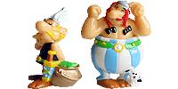 Asterix und die Wikinger Asterix Zeichentrickfilm. Figuren aus den Überraschungsei von Ferrero Obelix Asterix Miraculix Asterix und die Wikinger