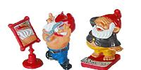 Die Badezimmerzwerge Serie erschien 1993. Coole Figuren im Badezimmer