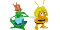 Die kleine Biene Maja aus dem Ü-Ei von Ferrero Maja und Willi Figuren