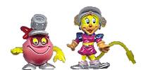 Cybertops Überraschungseier-Puzzles Beipackzettel Kinder Überraschung / Ü-Ei / Überraschungsei / Hartplastikfiguren - Einzelfiguren Hartplastik