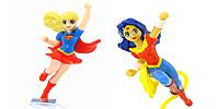 DC Super Hero Girls Figuren aus dem Ü-Ei von Ferrero