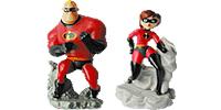 Die Unglaublichen – The Incredibles Figuren Incredibles Elastigirl Bob Parr Figuren Figur aus den Ü-Ei
