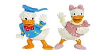 Donald Duck und seine flotte Familie Donald Figuren Walt Disney