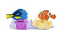 Filmfiguren von Findet Dorie 2016 (Nemo und sein Freunde