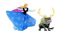 Die Eiskönigin Figuren Völlig unverfroren Filmfigueren