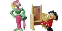 Funny Castle Figuren von Ferrerio aus dem Überraschungsei Ritter König Kammerdiener