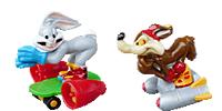 Looney Tunes Figuren im Pisten Gaudi Tweety Fuchs Warner Bros Bugs Bunny Cartoons
