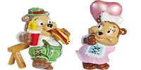 Die Top Ten Teddies in Volksfeststimmung Figuren aus dem Ü-Ei mit Herdi Herzilin und ihren Freunden