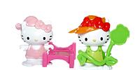 Hello Kitty Figuren aus den Ü-Ei Überraschungsei Figur