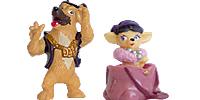 Figuren kinderüberraschung Ü-ei Ü-Eier die Hunde City Dogs Großstadthund Figur Figuren Hundefigur Kinder Kinderfiguren