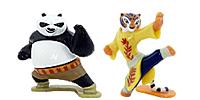 Kung Fu Panda 3 Figuren aus den Überraschungsei von Ferrero (Ü-Ei Figur)