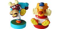 Magic Sport Figuren als Fussballer von Ferrero. Funktionell mit Magneten und Ball