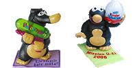 Mission Maulwurf Figuren von Ferrero mit Ronnie Rießenei