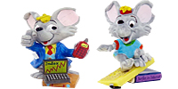 Figuren der Mega Mäuse aus den Internet. Schöne Handbemalte Ü-Ei Figuren für kleines Geld bei uns