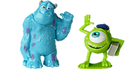 "Die Monster Uni Figuren Mike Glotzkowski Monster AG James P. Sullivan Mike Glotzkowski und James P. ""Sulley"" Sullivan"