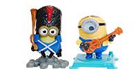 Die MINION Figuren aus dem Ü-Ei Überraschungsei Ferrero Ü-Eier  Minions-Film bekommen Kevin, Stuart and Bob