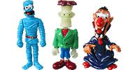 Monster Figuren aus dem Kinder Überraschungsei Graf Dracula Frankensstein und viele mehr (Halloween)