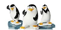 Die Pinguine von Madagascar aus dem Überraschungsei von Ferrero