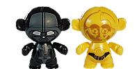 Star Wars Figuren aus dem Ü-Ei - Twistheads Star Wars Figuren Ferrero Überraschungsei R2D2 Figur die Macht