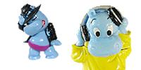Die Happy Hippo talend Show king of pop michael jackson Dieter Bohlen Singer Stern Star Hippo FIguren USB