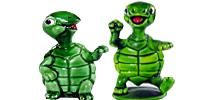 Tapsi Törtels Figuren Satz von Ferrero Schildkröten Figuren Figur