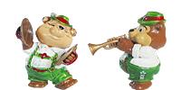 Die Top Ten Teddies in Volksfeststimmung Figuren aus dem Ü-Ei