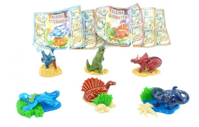 Alle 6 Figuren der kleinen Giganten (Komplettsätze)