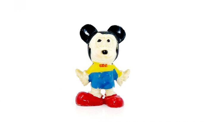 Micky Maus Figur von 1976 (Alte Ü-Ei Figuren)