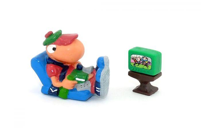Als Sessel Libero TV in grün (Bill Bodys)