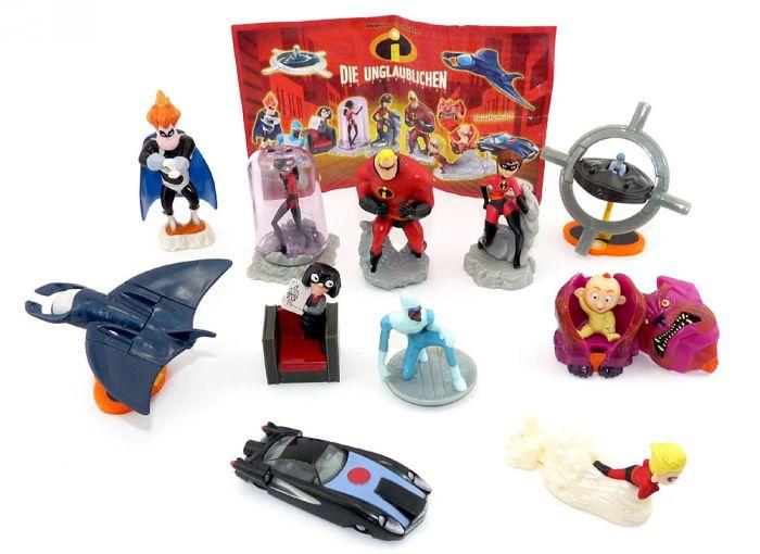 Die Unglaublichen – The Incredibles 11er Figuren Set mit einem Beipackzettel