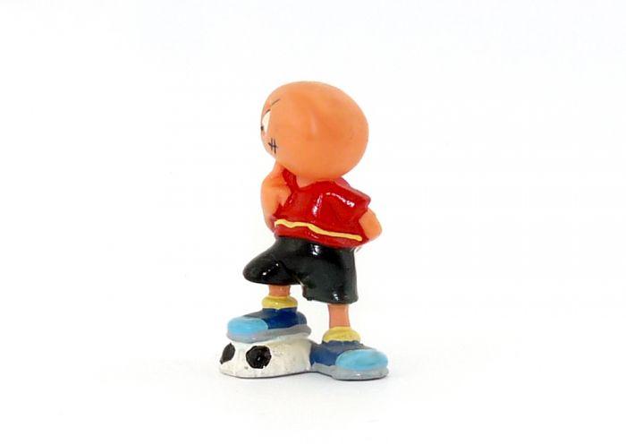 Plattfuß mit 4 Punkten auf dem Ball (Variante)