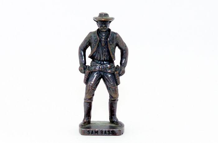 Sam Bass aus der Serie Westmänner 1. Metall Kupfer