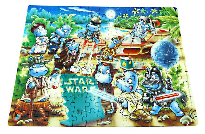 Maxi Ei Puzzle Star Wars Hipperium mit Anleitung (150 Teile Puzzle)