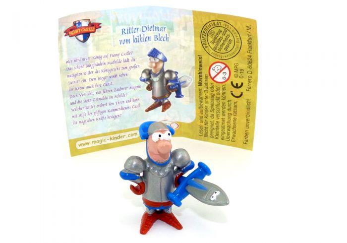 Ritter Dietmar mit Beipackzettel (Das Königliche Turnier - Funny Castle)