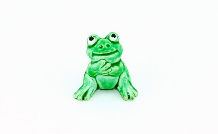 """Witzbold aus der Serie """"Happy Frogs"""" von 1986"""