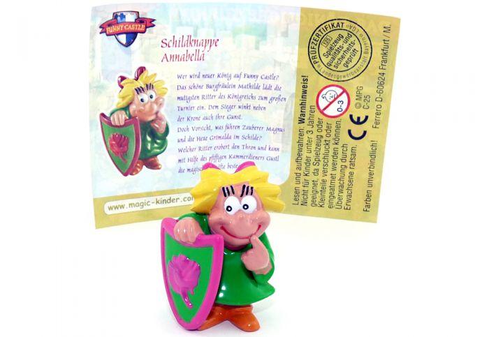 Schildknappe Annabella mit Beipackzettel (Das Königliche Turnier - Funny Castle)
