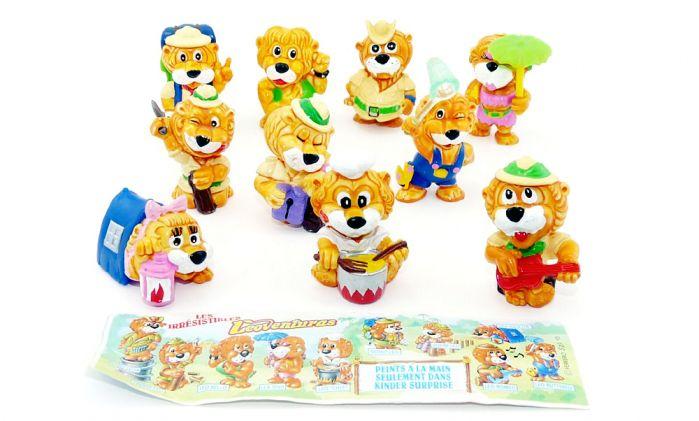 Leo Venturas von 1993, alle 10 Löwenfiguren (Komplettsatz)