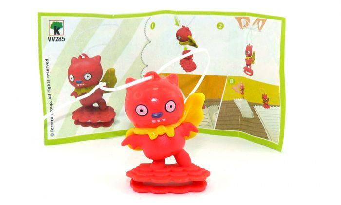 Ugly Dolls Figur VV285 aus dem Kinder Joy Ei 2021 mit Zettel