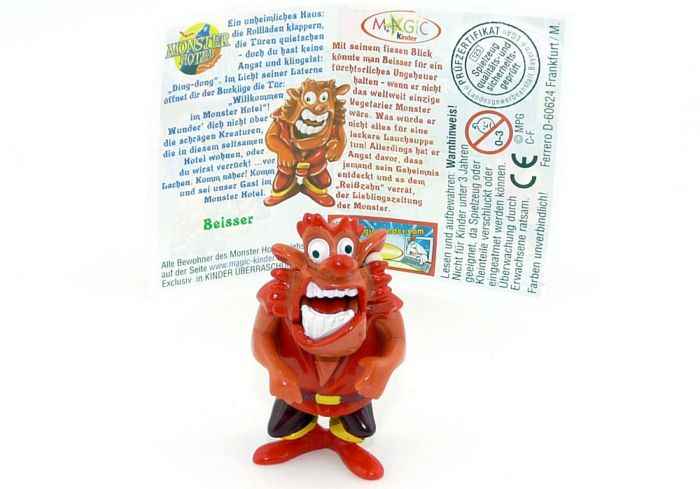 Beisser mit deutschen Beipackzettel (Monster Hotel)