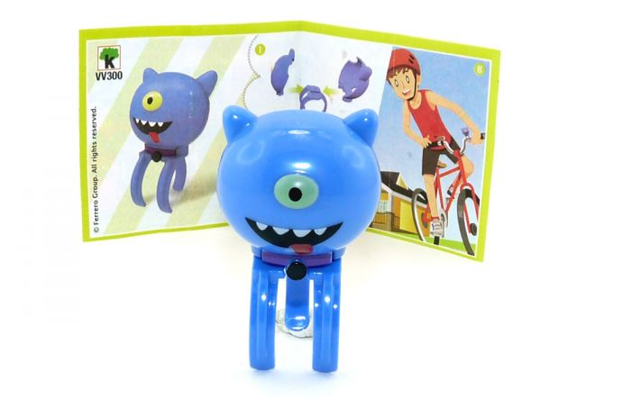 Ugly Dolls Figur VV300 aus dem Kinder Joy Ei 2021 mit Zettel