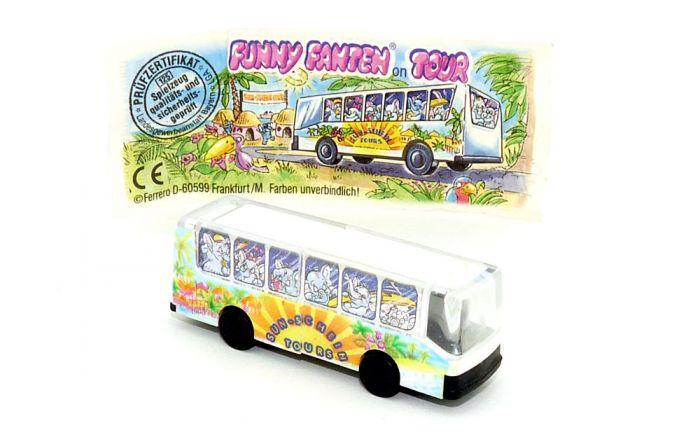 Tour Bus der Funny Fanten Cluburlaub mit Beipackzettel