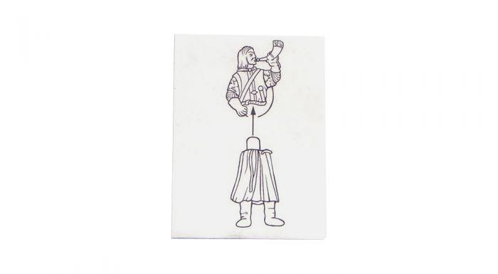 Boromir der Kämpfer, Herr der Ringe Teil 1 (Bauanleitung)