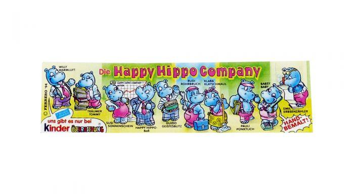 Happy Hippo Company Beipackzettel zur Serie