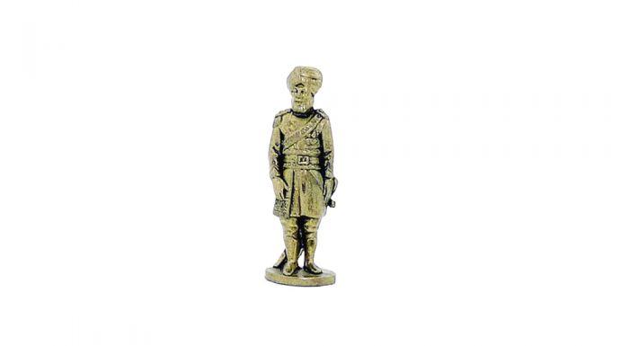 Indischer Offizier aus Messing 40 mm (Metallfiguren)
