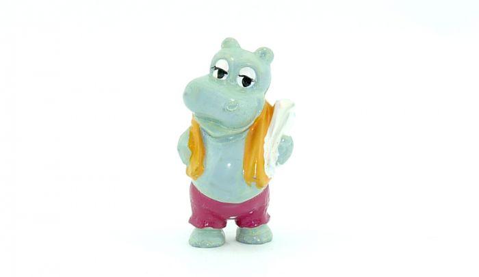 Bade Beppo aus der ersten Happy Hippo Serie von 1988