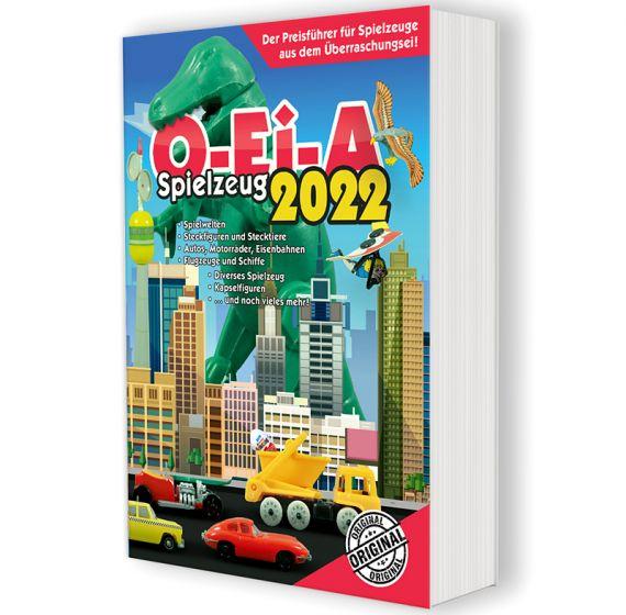 O-Ei-A Spielzeug 2022 - Der Preisführer für Spielzeug aus dem  Überraschungsei