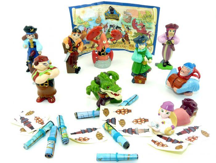 """Monsters und Piraten """"Pirates of the Caribbean"""" mit 1 Beipackzettel"""
