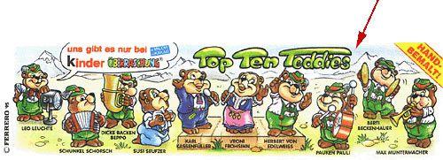 Top Ten Teddies Beipckzettel ohne R (Variante)