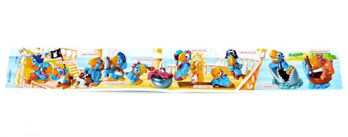 Beipackzettel der Los Pappagalos Figuren