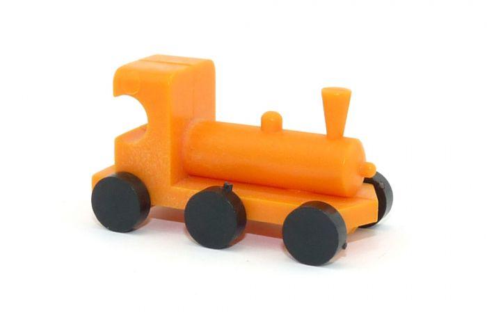 Orange Ü-Ei Lok von 1984 in orange